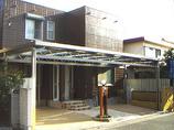 外壁・屋根リフォームガレージを拡張し開放感をプラス