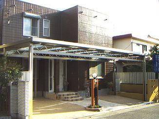 外壁・屋根リフォーム ガレージを拡張し開放感をプラス