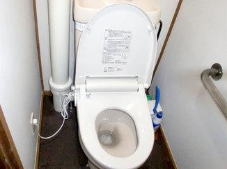 トイレリフォーム 寒い冬でも温かい暖房便座へ交換