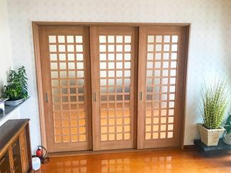 内装リフォーム お部屋を自由に行き来できる室内ドア